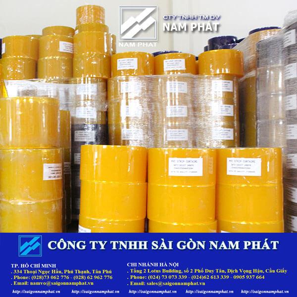 Màn (rèm) nhựa PVC