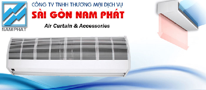 Công ty TNHH TMDV Sài Gòn Nam Phát chuyên nhập khẩu, phân phối sỉ, lẻ và lắp đặt quạt chắn gió Nedfon và quạt chắn gió Nafuji.