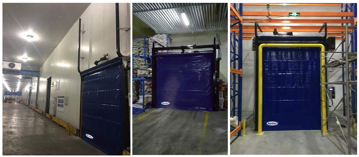 Freezer High Speed Doors HSD-3000NF