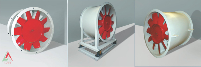 Booster Axial Ventilatons