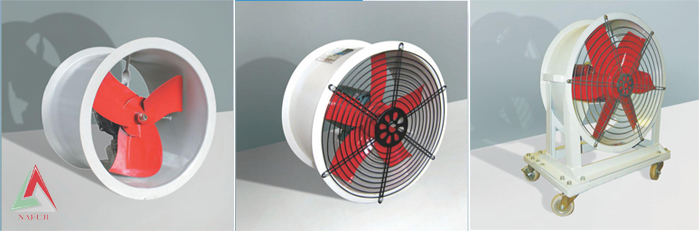 Axial Fans Circular Motion Direct