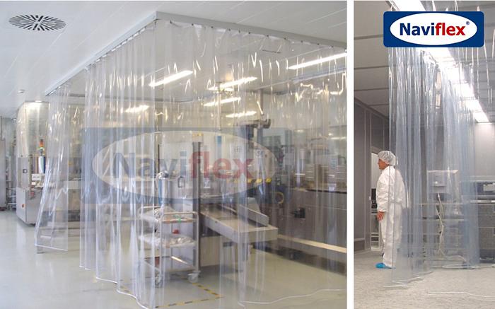 Màn nhựa PVC chống tĩnh điện công nghiệp