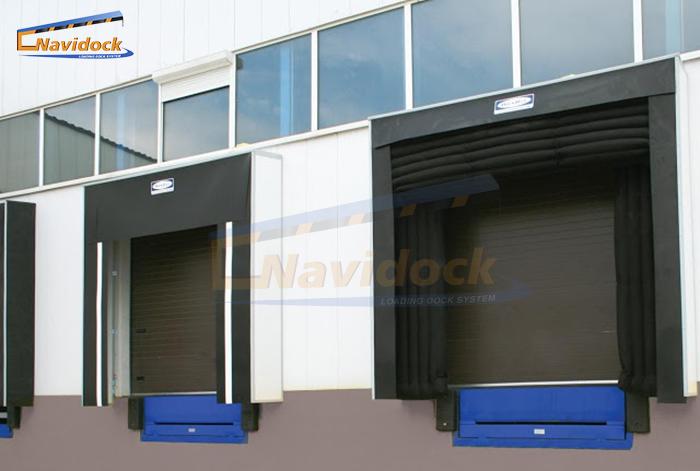 Bộ trùm túi khí & Bạt Che - Dock Shelter & Dock Seal