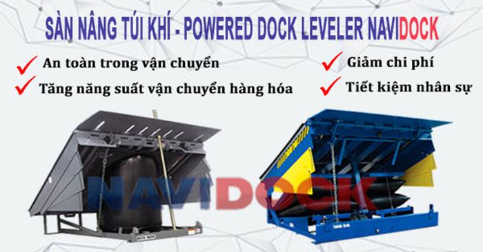 Sàn nâng túi khí - Air bag dock levelers