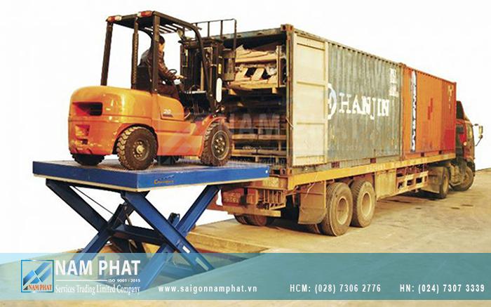 Sài Gòn Nam Phát chuyên phân phối bàn nâng cắt kéo Navidock chính hãng