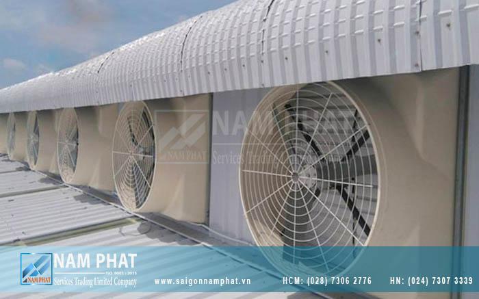 Mua quạt chắn gió công nghiệp Hồ Chí Minh tại Sài Gòn Nam Phát