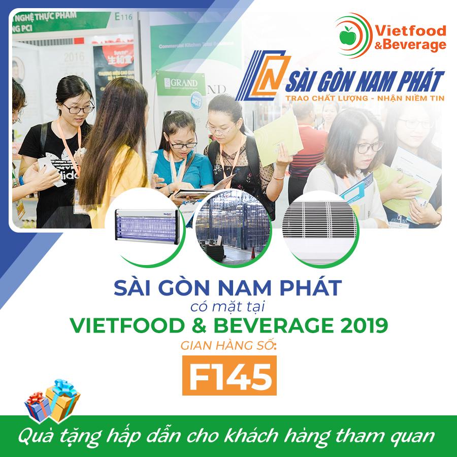 Sài Gòn Nam Phát tham gia Vietfood 2019