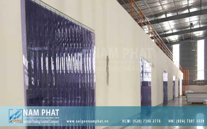 Màn PVC ngăn lạnh được sử dụng phổ biến trong ngành thủy hải sản