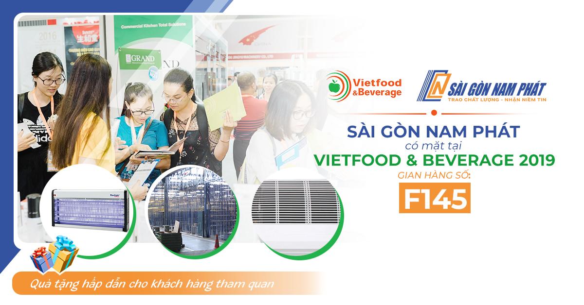 Tham gia Vietfood 2019 nhận voucher ưu đãi từ Sài Gòn Nam Phát
