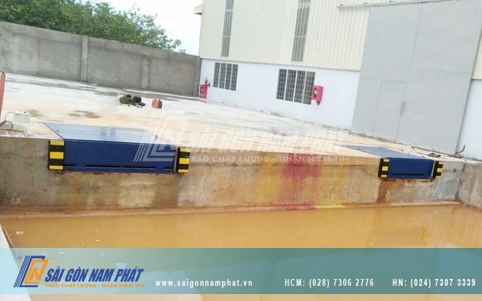 Sài Gòn Nam Phát còn sản xuất Sàn nâng tự động theo kích thước yêu cầu của khách hàng