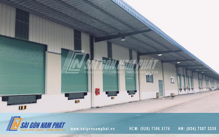 Dock Leveler được thi công bởi Sài Gòn Nam Phát