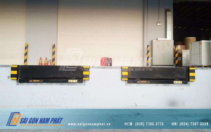 Sài Gòn Nam Phát thiết kế, sản xuất và lắp đặt Dock Leveler trên toàn quốc