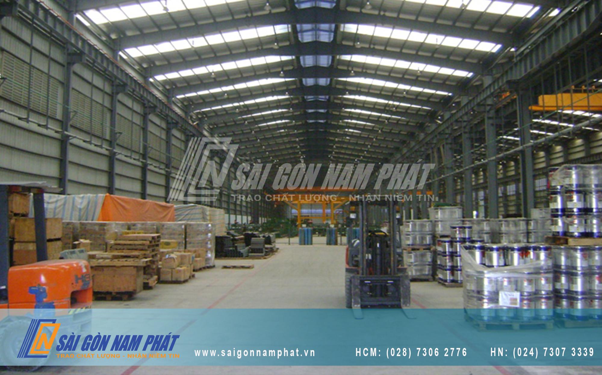 Giải pháp tối ưu kho vận cho kho xưởng và nhà máy