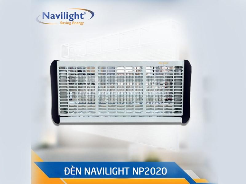 Đèn diệt côn trùng NP2020 có khung đèn làm bằng thép sơn tĩnh điện