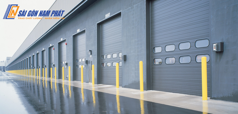 Cửa công nghiệp cho kho xưởng