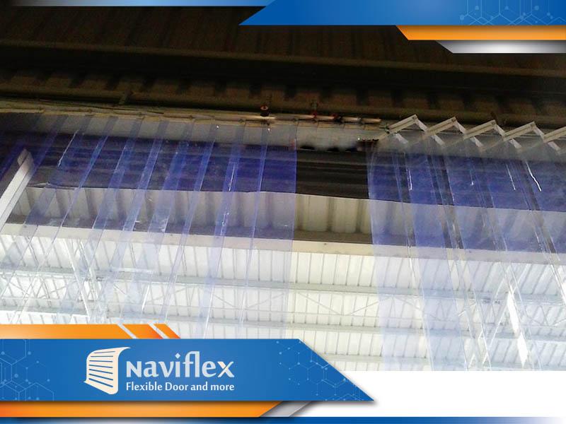 Báo giá màn nhựa PVC kéo xếp
